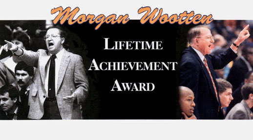 The Morgan Wootten Lifetime Achievement Award Event Logo