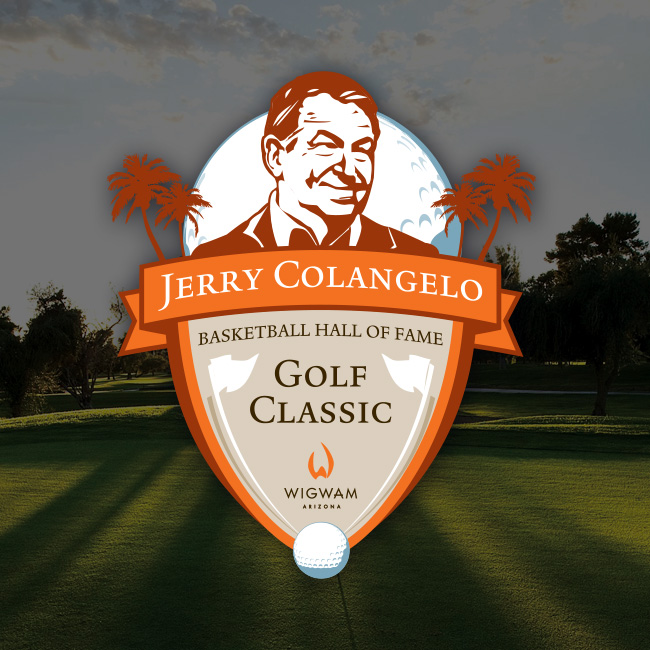 The Jerry Colangelo Basketball Hall of Fame Golf Classic Logo