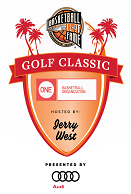 Basketball Hall of Fame Golf Classic at Monarch Beach Golf Links Hosted by Jerry West Event Logo