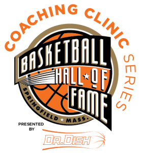 Coaches Clinic Circle Logo Registration Link