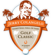 The Jerry Colangelo Basketball Hall of Fame Golf Classic Event Logo
